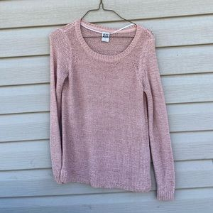 Vero Moda Womens Juniors Small Pink Knit Sweater